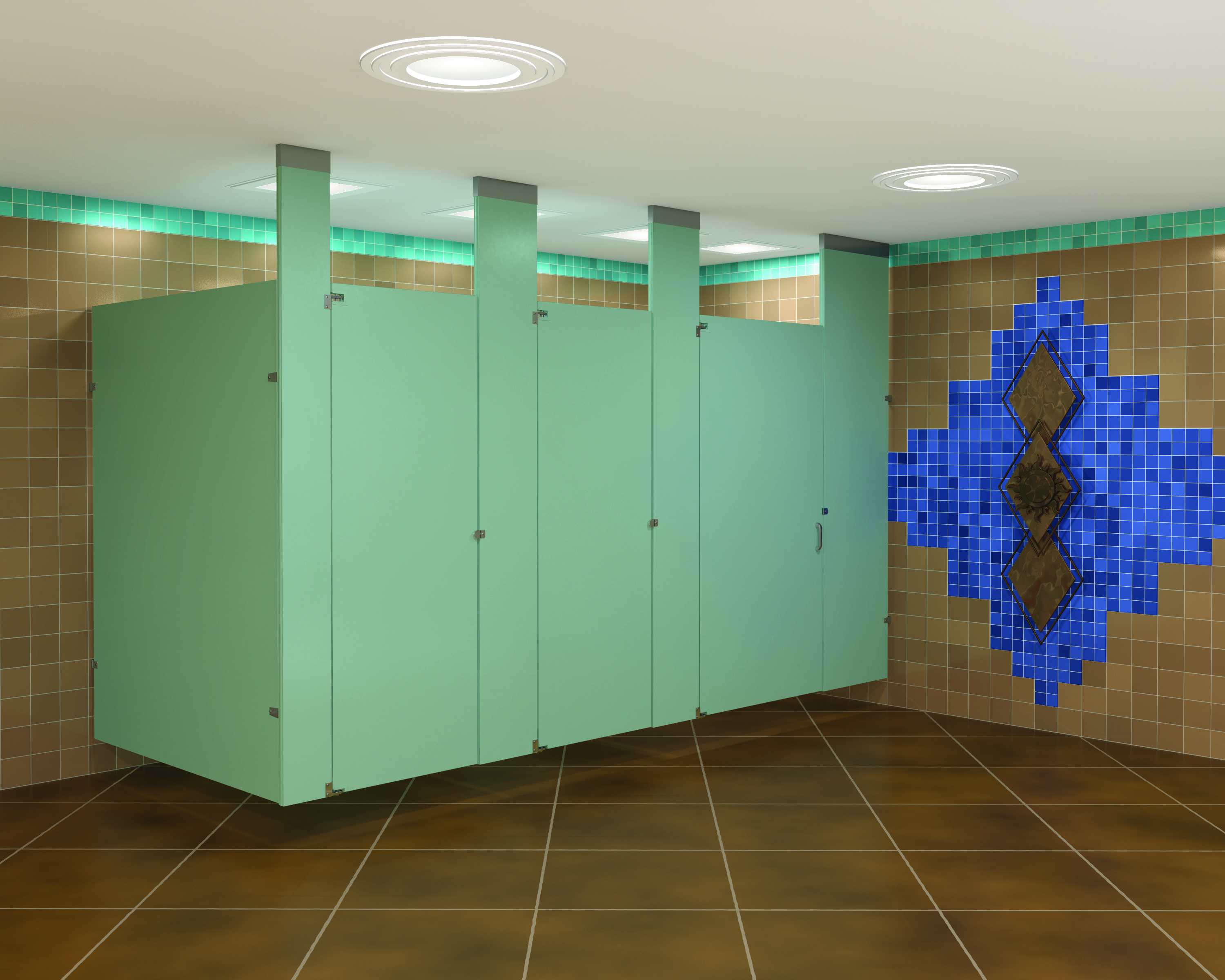 Division 10 seattle wa commercial doors garage doors for Commercial bathroom partition doors